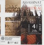 Representaci�n teatral �Assassinat a la Catedral� de T. S. Eliot en Barcelona